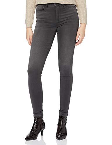 ONLY NOS Damen Skinny Onlroyal High SK Dnm Jeans BJ312 Noos, Grau (Dark Grey Denim), W27/L30 (Herstellergröße: S)