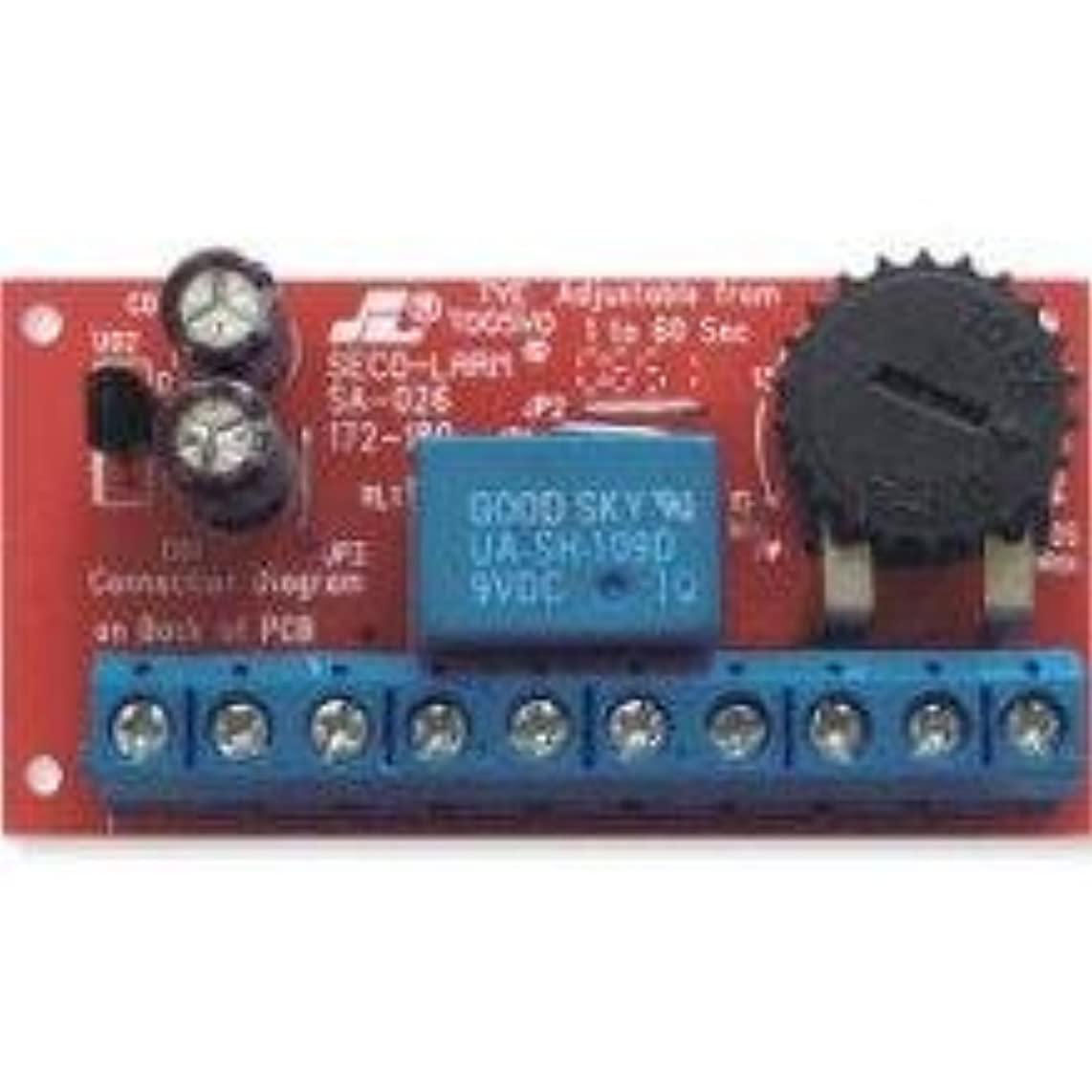 Seco-Larm Low Voltage Miniature Delay Time Module Includes Double-Sided Foam Tape