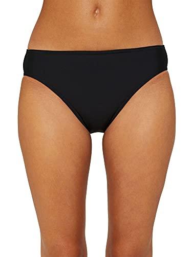 ESPRIT Damen Ocean Beach AY Classic solid Bikinihose, 001/BLACK, 40