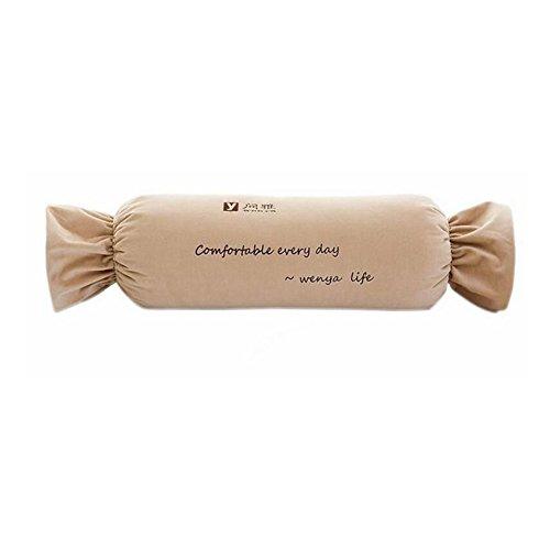 CJC Kussens Multifunctionele Rugleuning Quilt Luxe Trendy Textiel Opvouwbaar Beddengoed Gemak Dragen Opslag Snoepjes mooie Comfortabele Student Office Wit-kraag