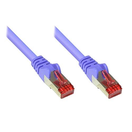 VARIA Group Patch Cable Cat. 6-0.15 m, S/FTP, PiMF, Violet