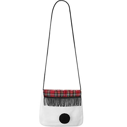 TecTake dressforfun 303409 Damen Handtasche Schneefrau, Umhängetasche, ideal als Accessoire für unser Schneefrau Kostüm