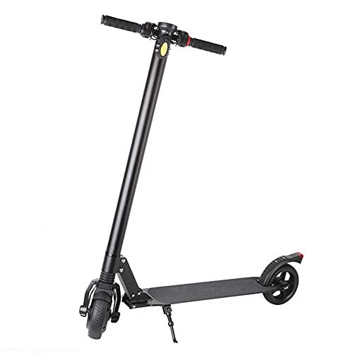 QYTS Scooter Eléctrico con Sistema Plegable De Liberación Rápida: hasta 40 mph, Súper Ligero De 12,5 Kg, Patinete Eléctrico Plegable De Aluminio para Adultos