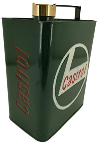 Blackbrook Interiors Vintage style Castrol Oil or Jerry can - Decorative use in garages, sheds or mancaves