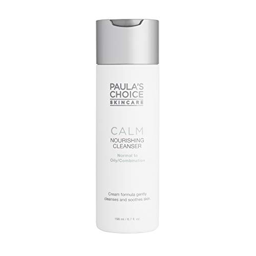 Paula's Choice CALM Nourishing (Redness Relief) Cleanser with Aloe, 6.7 Oz Bottle, Face Wash for Oily and Combination Sensitive Skin