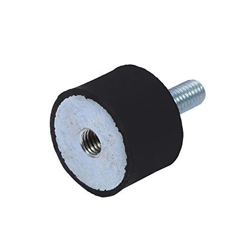 Duokon Supports Anti-Vibration, Silent Bloc Universel Isolateur de Caoutchouc Supports Isolateur Amortisseur Bobines pour Bateau Voiture M6 / M8