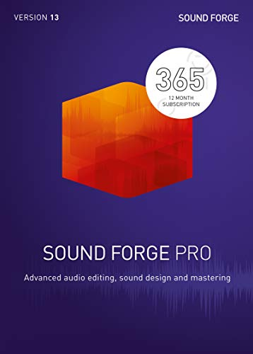 SOUND FORGE Pro|365|1 Device|12 Months|PC|Download|Download
