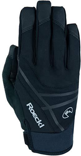 Roeckl Reutte 2021 - Guantes de ciclismo para invierno (talla 7), color negro