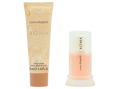 Laura Biagiotti Roma Geschenkset Eau de Toilette Vapo 25 ml + Body Lotion 50 ml