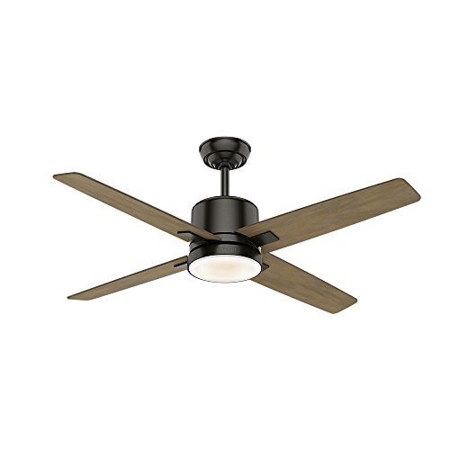 """Casablanca Fan Company 59341 Casablanca 52"""" Axial Noble Bronze Ceiling Fan with Light with Wall Control"""