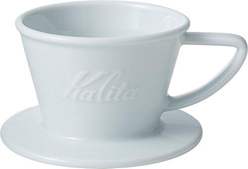 カリタ Kalita コーヒー ドリッパー ウェーブシリーズ 磁器製 波佐見焼 1~2人用 HASAMI & Kalita HA155#01035