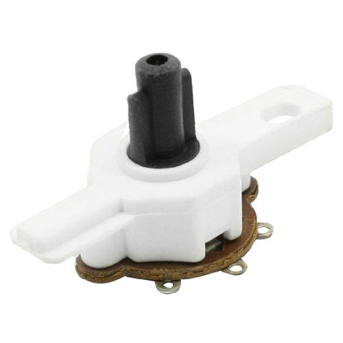 Forma de T 4 Pin Ventilador Techo de Soldadura Auriculares monoaurales Interruptor de Control de Velocidad