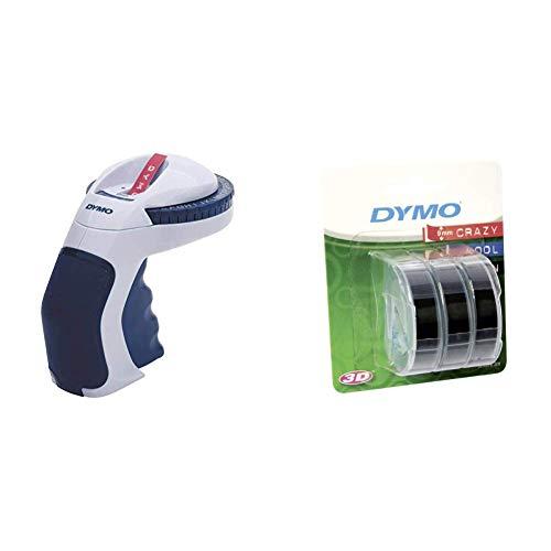 Estampadora de uso doméstico Dymo con cintas