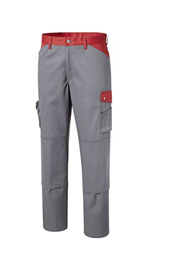 PIONIER WORKWEAR Herren Bundhose Active Style in rotgrau (Art.-Nr. 2684)