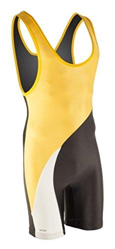 Matman Ringeranzug Georgia gelb/schwarz Gr. XL