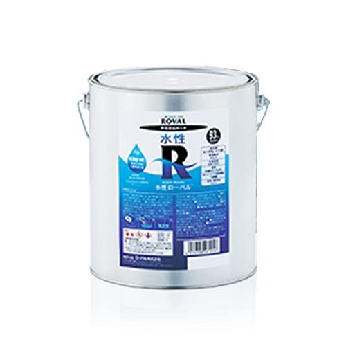 エスコ(ESCO) 4.5kg セット 水性 錆止め塗料 グレー EA942DR-2