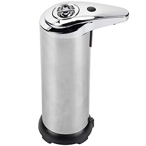 Good Shopping Dispensador de jabón Soap Dispensers Dispensador De Desinfectante Líquido De Jabón De Acero Inoxidable De 250 Ml Sin Touchless. para baño de Cocina