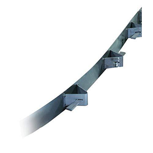 Bon 12-789 10-Feet by 6-Inch Flexible Steel Concrete Form