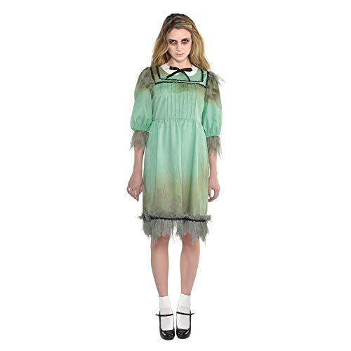 amscan Frightening Darling Costume-Size 18-20-1 Pc Disfraces, Multicolor, Talla 18-20 Mujer