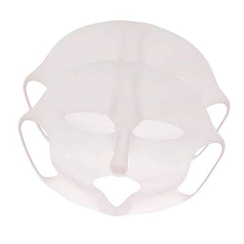 Gesichtsmasken-Abdeckung, wiederverwendbare Silikon-Masken-Abdeckung Gesichtsdampf-wasserdichte Gesichts-befeuchtende Beautymaske
