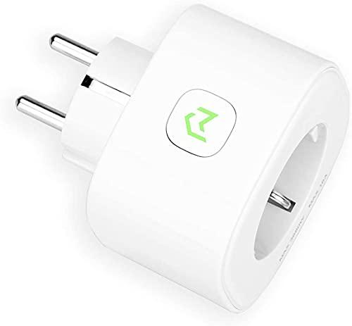 Enchufe Inteligente, Mide el Consumo 16A 3680W Wi-Fi Smart Plug, con Control Remoto Meross App. Compatible con Alexa, Google Assistant y SmartThings. MSS310