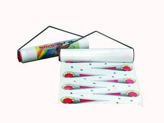 SCHOPF 302160 Sticky plakfolie vliegenvanger zonder gif, 8 m x 30 cm