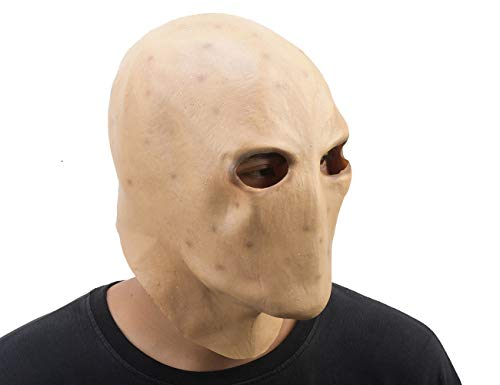 Party Story Slender Man Ghost Adult Scary Mask Halloween Cosplay Costume Full Face Mask