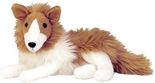 TY Beanie Babies Cassie the Collie Stuffed Animal Plush Toy - 9 inches long by Ty