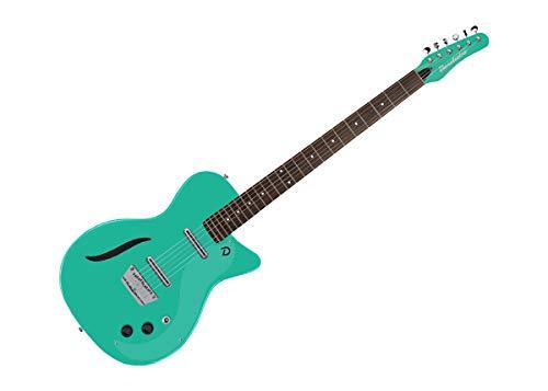 Danelectro Vintage Baritone Electric Guitar - Dark Aqua