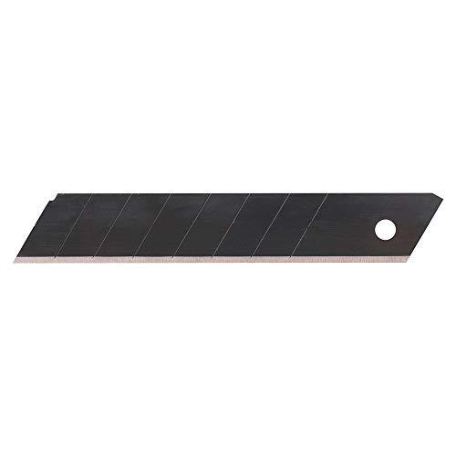Smart reservemesjes voor cuttermes, universeel mes, zakmes, mes groot 18 mm, a'10, zwart
