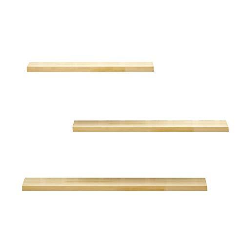JINBAO Pared Mesa Plegable Madera Maciza Fácil de Instalar Estable Duradera Fácil de Limpiar Escritorio de Pared Oficina Estudio Dormitorio Baño Cocina