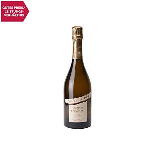 Crémant de Bourgogne Les Reipes Chardonnay Extra Brut Weißwein - Louis Picamelot - Sekt - g.U. - Burgund Frankreich - Rebsorte Chardonnay - 75cl