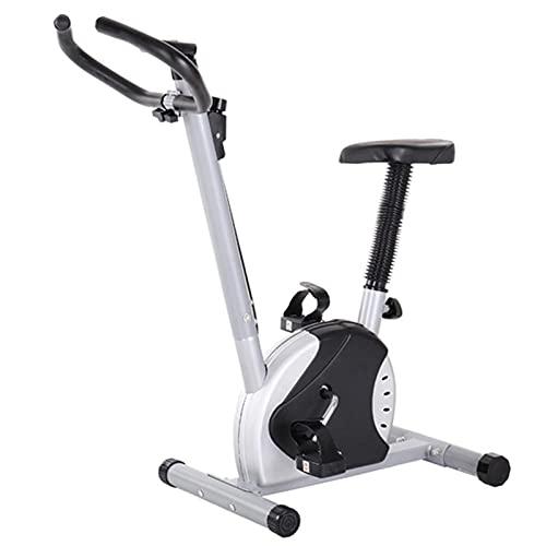 AMAZOM Bicicletas Estáticas, Bicicleta Estática Vertical De Resistencia Magnética con Niveles De Resistencia Preestablecidos para Entrenamiento Cardiovascular Y Entrenamiento De Fuerza