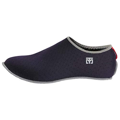 MOOTO Korea Taekwondo MarShoes TKD MMA Martial Arts Gym Academy School Socks Type Mar Shoes Red and Navy (Navy, 5. L(255~265 mm or 9.84~10.43 inch))