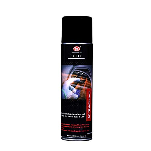 UE Elite Air Conditioner Cleaner & AC Disinfectant Foaming Removes Odour-Causing contaminants, Thick foaming Formula Effective Cleaning -250 ML Car Care/Car Accessories/Automotive