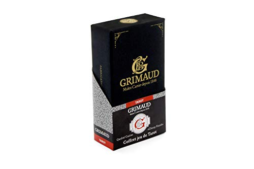 Grimaud Expert-Coffret cartes de tarot, 130007958, noir