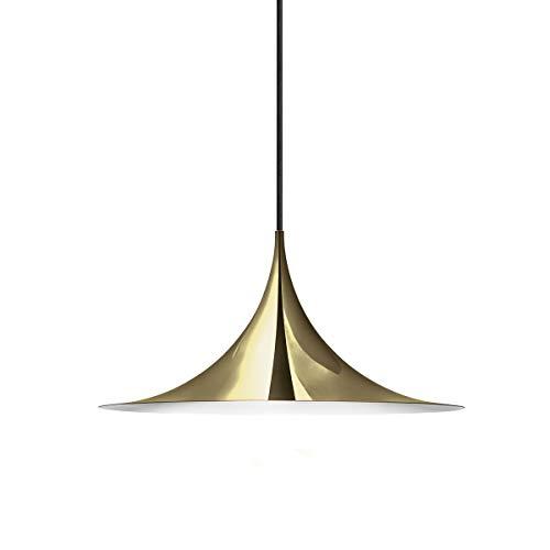 Gubi - Lámpara semicolgante, diámetro de 30 cm, latón.