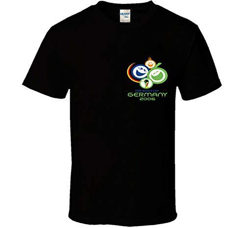 Año 2006 Alemania Fútbol Organización Mundial de la Copa Camiseta de Verano...