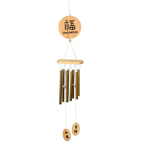 Hunpta Grande Wind Chimes cloches en cuivre tubes Outdoor Yard Garden Home Decor Ornement NEUF bronze