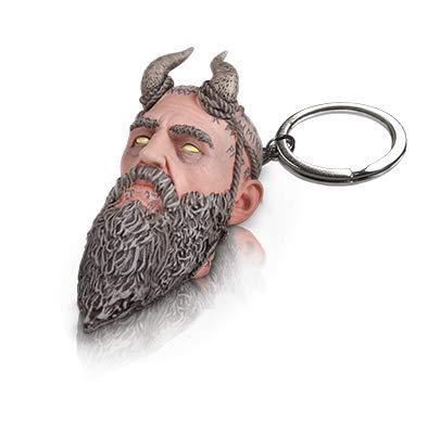 God of War Mimir's Talking Head Keychain PS4 Playstation 4 from Stone Mason Edition