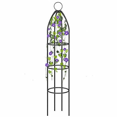 Rankhilfe Rankgitter Rosensäule Metall Pergola Obelisk Säule, Kletterpflanzen Blumentopf Garten Für Blumentöpfe In Innen- Und Außen- Und Außenbereiche Oder Outdoor-Anbau Usw.