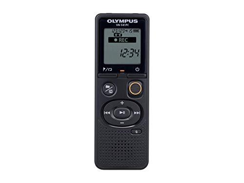 Olympus VN-541 PC hochwertiges digitales Diktiergerät mit omnidirektionalem Mikrofon, One-Touch-Aufnahme, Rauschunterdrückung, einfacher Szenenauswahl, automatischem Low-Cut-Filter und 4 GB Speicher
