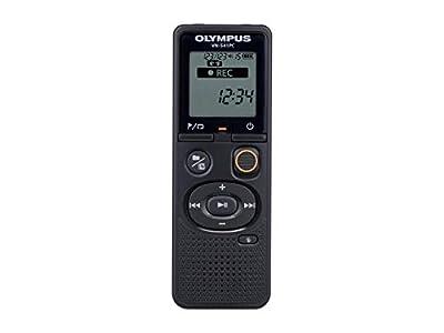Olympus VN-541 - Grabadora de Voz Digital de Calidad para Ordenador con Micrófono Omnidireccional, Grabación con una Sola Pulsación, Cancelación de Ruido, Selección Fácil de Escenas, 4 GB de Memoria