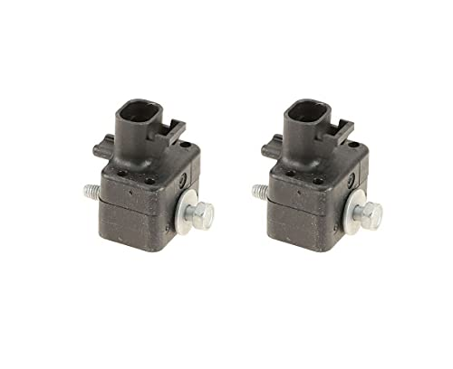 Set of 2 Front Bumper Impact Sensors Compatible with Chevy Cadillac GMC 07-08