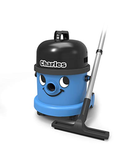 Henry CVC370-2 Charles Wet and Dry Vacuum Cleaner, 15 Litre, 1060 W, Blue, Blue / Black