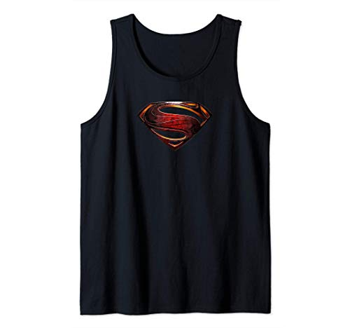 DC Comics Justice League Movie Superman Emblem Canotta