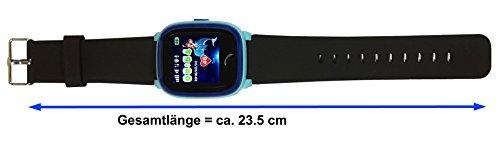 VIDIMENSIO GPS Telefon Uhr Großer Delfin Armband: schwarz-lang, WASSERDICHT, OHNE Abhörfunktion Abbildung 2