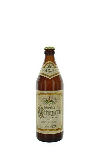 Birra Tedesca Kloster Scheyern Bionda Chiara - Weiss Hell Cassa Con 20 Bottiglie Da 0,5 l