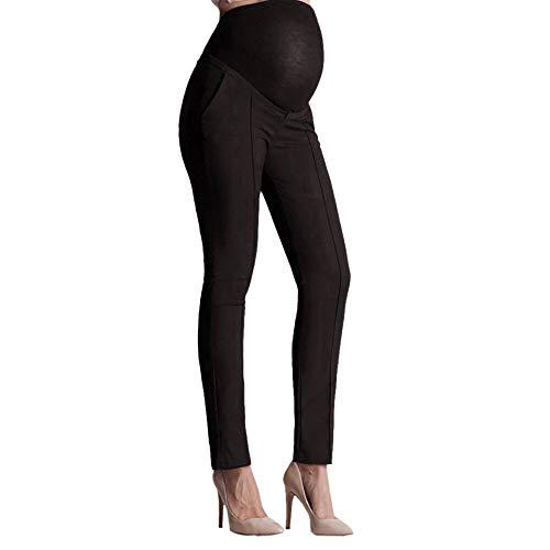 QinMM Pantalones de Oficina de Trabajo para Mujeres Embaraza