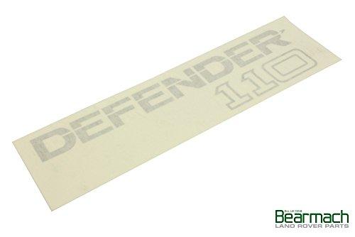 Land Rover - Badge Rear Defender 110 Part# BTR1049